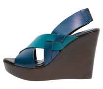 JOB Keilsandalette cobalt/light blue