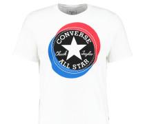 LARGE CIRCLE CHUCK PATCH - T-Shirt print - white
