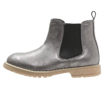Stiefelette grey metallic