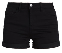 PCFIVE BETTY - Jeans Shorts - black