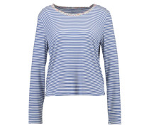 Nachtwäsche Shirt - preppy active blu
