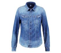 GStar TACOMA SLIM SHIRT L/S Hemdbluse blue denim
