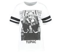 2PAC - T-Shirt print - white