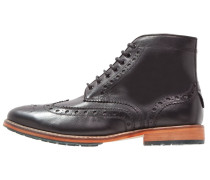 DEVERON - Schnürstiefelette - true black