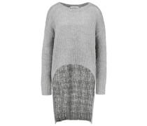 VEDA - Strickpullover - light grey melange