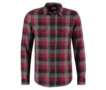 WORKER SHIRT REGULAR FIT Hemd maroon port