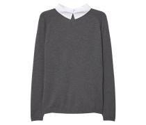 ACACI Strickpullover medium heather grey