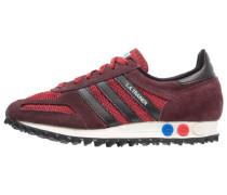 LA TRAINER OG - Sneaker low - mystery red/core black/night brown