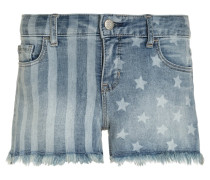 AMERICANA MIDI - Jeans Shorts - denim