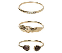 3 PACK Ring labrodite