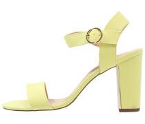 Riemensandalette yellow