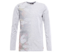 Langarmshirt sky grey heather