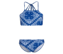 BANDANA - Bikini - mid blue