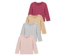 MULTI BERRY LONG SLEEVE TSHIRTS 4 PACK Langarmshirt pink
