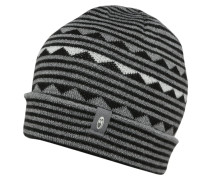 ATOM Mütze black/snow