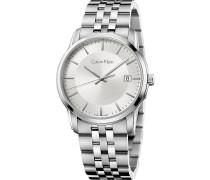 INFINITE Uhr silvercoloured