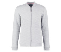 Bomberjacke light grey melange