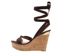 OHANA High Heel Sandaletten dark brown