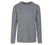 DAVIDE - Strickpullover - mid grey melange