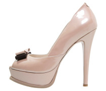 PARIS Plateaupumps puder