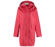 Regenjacke / wasserabweisende Jacke deep red