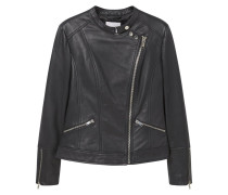 CALIFORN Lederjacke black