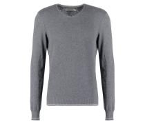 Strickpullover grey melange
