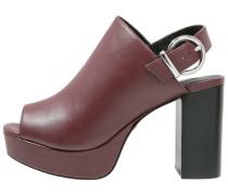 LIQUORICE High Heel Sandaletten red