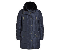 Wintermantel blue