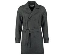 BIRD EYE GREENWICH Wollmantel / klassischer Mantel grey
