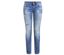 ROSE Jeans Slim Fit mid destroyed
