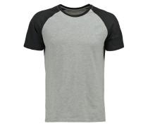 TShirt print grey melange/black