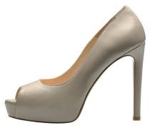 High Heel Peeptoe - beige