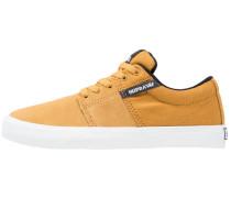 STACKS II - Sneaker low - amber gold/white