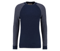 Strickpullover - navy