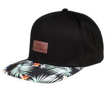 ALLOVER IT - Cap - black decay palm