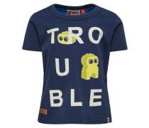 TROUBLE´´ TEXAS - T-Shirt print - dunkelblau