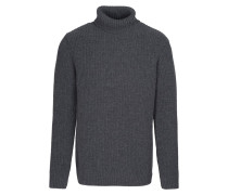 PETER Strickpullover dark grey melange