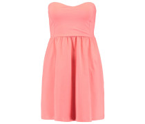 Jerseykleid - coral