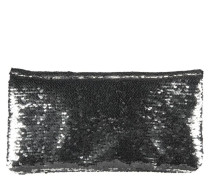 SEQUENCES Clutch silver/black