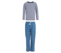 Pyjama metallic melange
