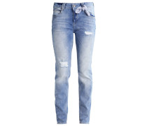 Jeans Relaxed Fit blue denim stretch