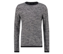 Strickpullover grey/dark blue
