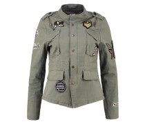 MOLLY Leichte Jacke washed army