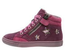 Sneaker high eggplant/mallow/fuchsia