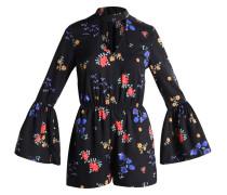 DITSY CHOKER NECK - Jumpsuit - black pattern