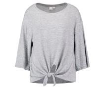 Strickpullover - marled grey heather