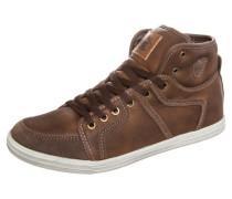 TRUSTY Sneaker high marron