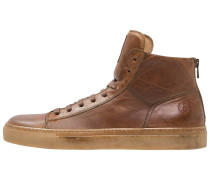 WARWICK Sneaker high cognac