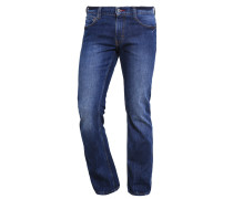 Jeans Bootcut dark blue denim